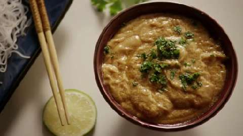 The best thai peanut sauce video allrecipes com