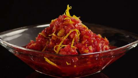 Cranberry Orange Relish with Orange Liqueur