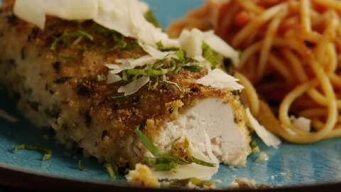 Baked chicken breast recipes allrecipes baked parmesan crusted chicken ccuart Image collections