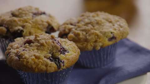 To Die For Blueberry Muffins Video - Allrecipes.com
