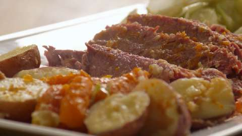 Easy recipes for corn beef and cabbage