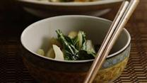 Spicy Bok Choy in Garlic Sauce