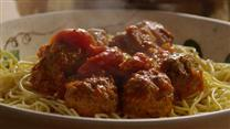 Italian Spaghetti Sauce with Meatballs