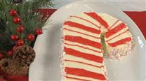 How to Decorate a Candy Cane Cake