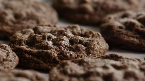 Easy double chocolate chip cookies recipe