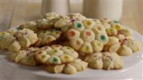 Butter Rich Spritz Butter Cookies