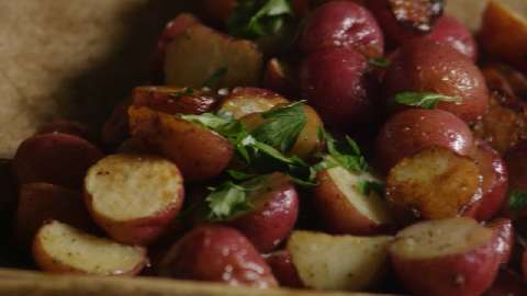 Russet potato recipes roasted red
