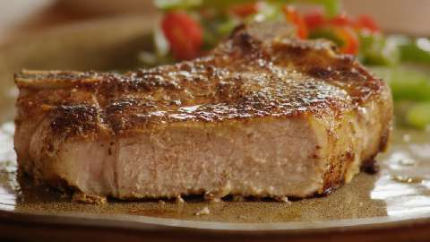 Apple Cider Sauce And Pork Loin Chops Recipes — Dishmaps