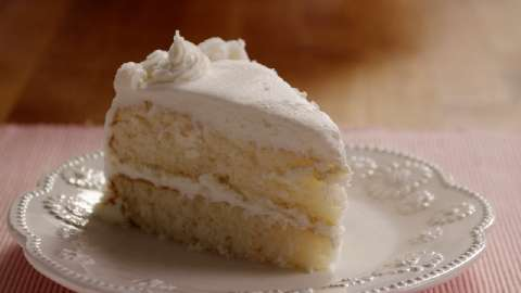 Heavenly White Cake Recipe Allrecipescom