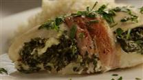 Spinach Stuffed Chicken Breasts