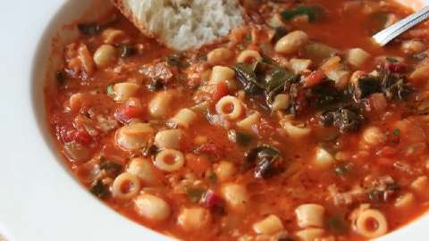 recipe: simple minestrone soup [12]