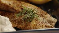 Hudsons Baked Tilapia with Dill Sauce