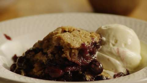 Best Ever Blueberry Cobbler