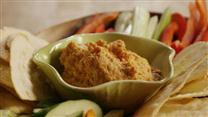 Easy Red Pepper Hummus