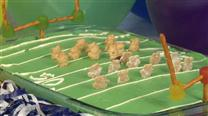 Football Field Cake