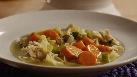 chicken soup from scratch recipe