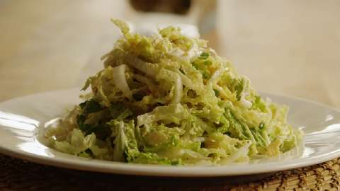 "Million Dollar"" Chinese Cabbage Salad Recipes — Dishmaps"