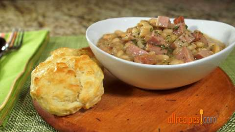 Pantry Ham and Beans