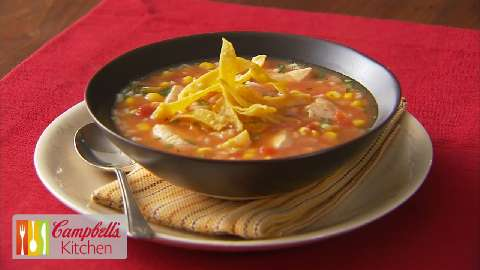 Chicken Tortilla Soup V VideoAllrecipes.com