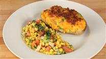 Southwestern Potato and Corn Salad Dinner