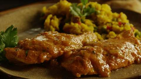Simple chicken curry recipe for 2