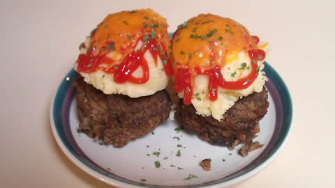 Meatloaf Muffins