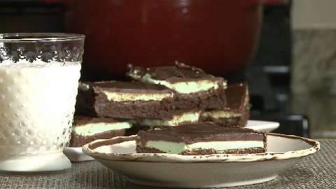 Luck O' the Irish Brownie