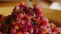 Ukrainian Salat Vinaigrette (Beet Salad)