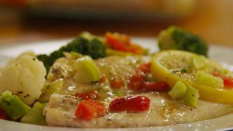 Easy baked fish recipes with vegetables