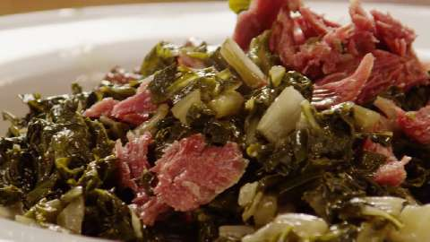 how to make southern greens