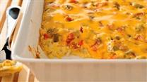 VELVEETA Cheesy Bacon Brunch Casserole