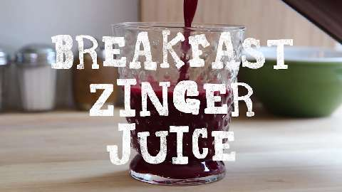 Breakfast Zinger Juice