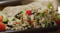 Mediterranean Barley Salad