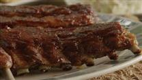 Scott's Amazing Whiskey Grilled Baby Back Ribs