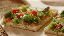 Garden Veggie Pizza Squares