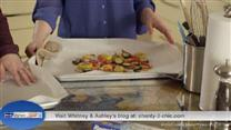 Tip for Whitney and Ashley's Roasted Vegetables