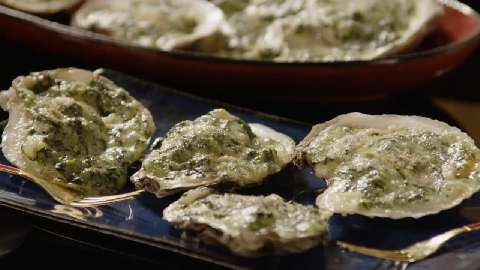Rockin' Oysters Rockefeller Video - Allrecipes com