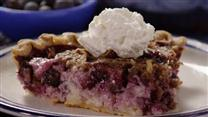 True Blue Custard Crunch Pie