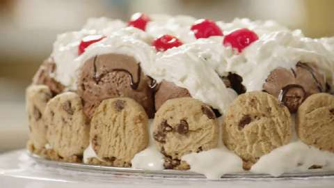 Chocolate Chip Cookie Ice Cream Cake Recipe Allrecipescom