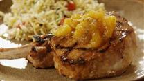 Tropical Grilled Pork Chops