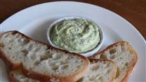 Homemade Garlic Basil Mayonnaise