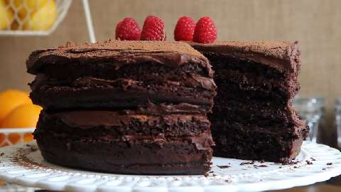 Extreme Chocolate Cake Video - Allrecipes.com