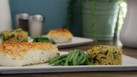 Easy almond crusted halibut recipes