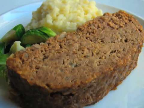 vegetable meatloaf with i ve been craving i mean glazed meatloaf ...