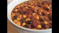 Meatless Three-Bean Chili