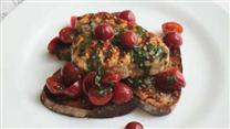 Chef John's Grilled Swordfish Bruschetta