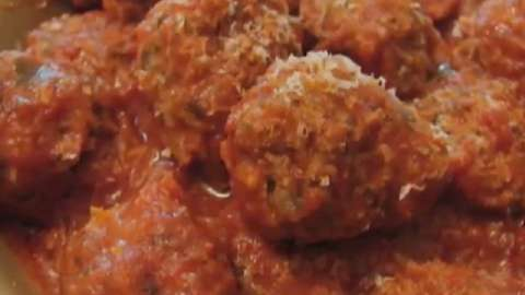 chef john s ricotta meatballs see how to turn regular beef meatballs ...