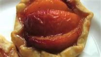 Chef John's Peach Tartlets