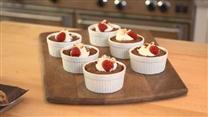 Mini Dark Chocolate Pudding Cakes