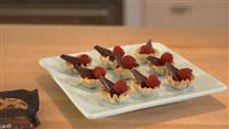 Raspberry Chocolate Tassies